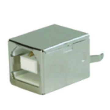 USB B Type Receptacle Straight DIP