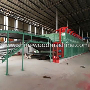 High Efficiency Plywood Veneer Drying Machine for Sale