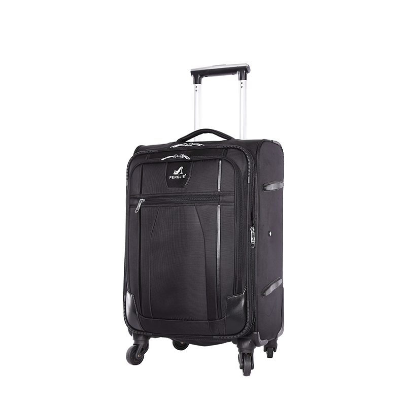 Polyester Brown Luggage