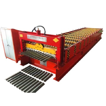 Automatic multifunction corrugated roll forming machine