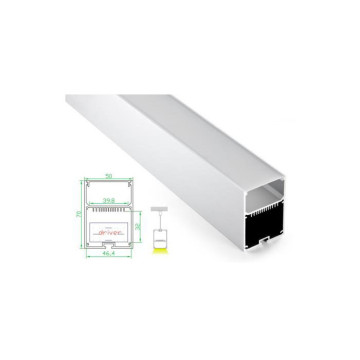 Aluminum Inspiration Linear Light