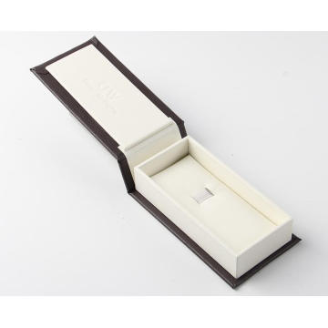 Lovely Design Watch Box With Deboss Logo