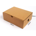 Custom recycle display corrugated paper box