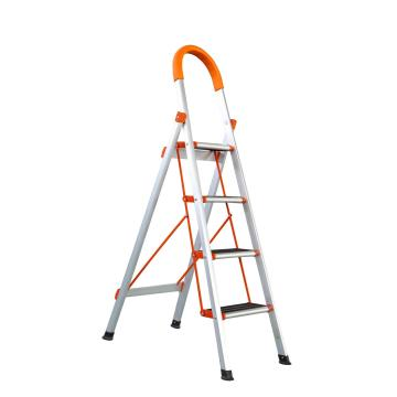 D-shape household folding aluminium step ladder