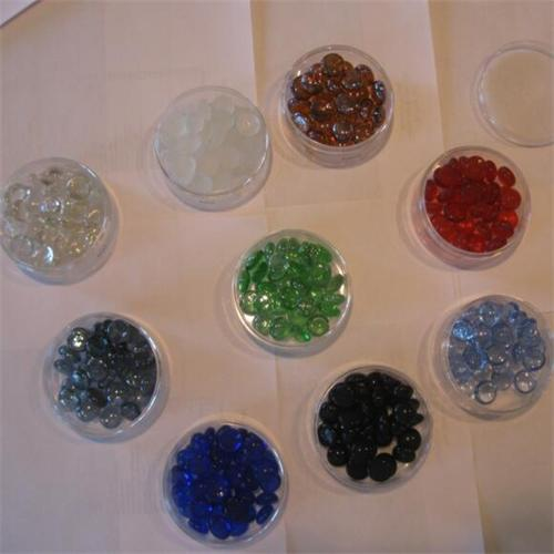 Wholesale natural small glass marbles for aquarium