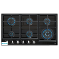 Gas On Glass Hob In 90cm
