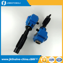 DIN high quality urban construction save space 3'' butterfly valve
