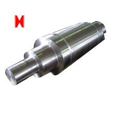 Steel forging and machining shaft