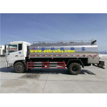 8000L Dongfeng Milk Transportation Trucks