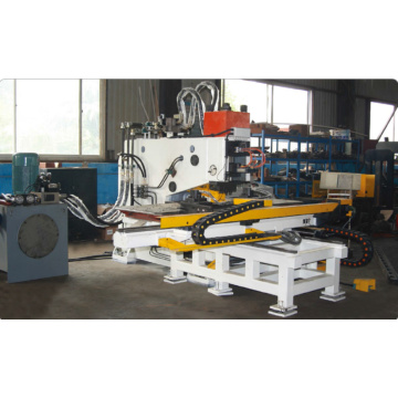 YBJ-100/100A Hydraulic CNC Plate Punching Machine