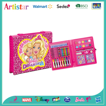BARBIE 52 pieces art set