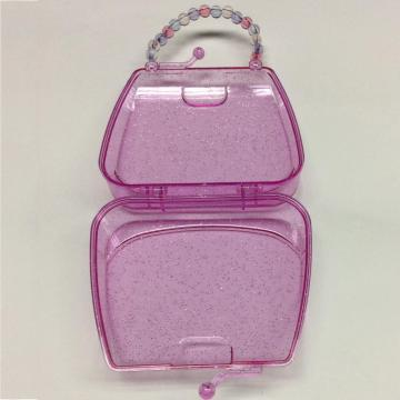 plastic handbag shaped cute storage box