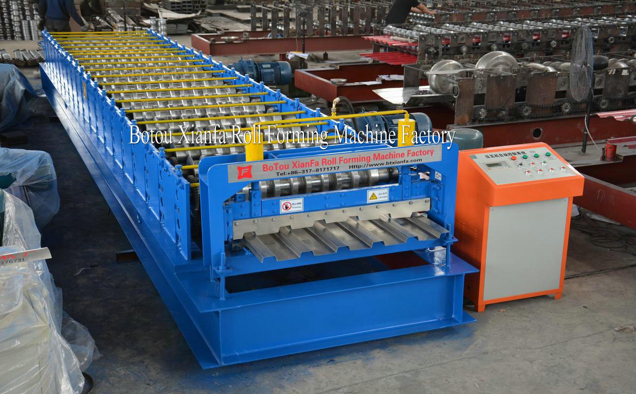 forming machine for container panel