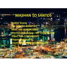 Professional for Sea Freight / Ocean Freight / Shipping To Central And South America,Central And South America Shipping Line Supplier in China Shantou Mashan Sea Freight to Brazil Santos export to Indonesia Manufacturer