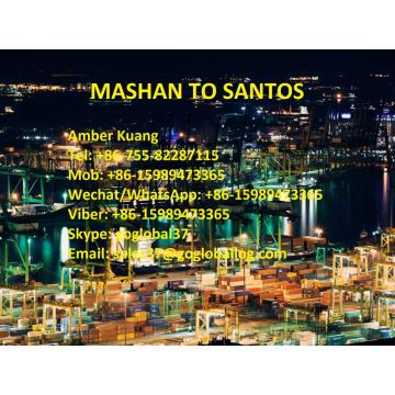 OEM/ODM for Sea Freight / Ocean Freight / Shipping To Central And South America,Central And South America Shipping Line Supplier in China Shantou Mashan Sea Freight to Brazil Santos export to Spain Manufacturer