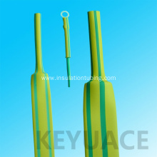 Good Quality for Heat Shrinking Thin Wall Tubing Identification Use Green Yellow Heat Shrink Sleeve supply to Portugal Factory