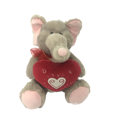 Plush Elephant For Valentine