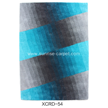 Microfiber Thin Yarn Carpet with design