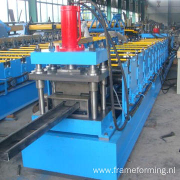 used c z purlin cold roll forming machine