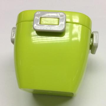 Plastic square double-layer lunch box