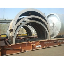 China for Tyre Pyrolysis Equipment used tire to oil pyrolysis machine export to Spain Manufacturer