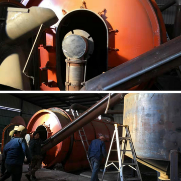 fast delivery pyrolysis nachinery