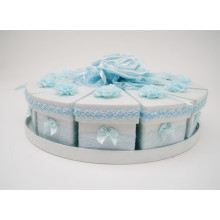 Wedding Custom Handmade Cake Candy Box