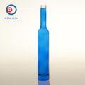 Wine Bottle Narrow Mouth and Blue Printing