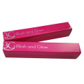Customized Cute Pink Silver Foil Lipstick Box