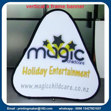 Custom Pop Up A-Frame Portable Outdoor Banner