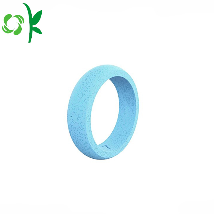 Sky Blue Silicone Ring