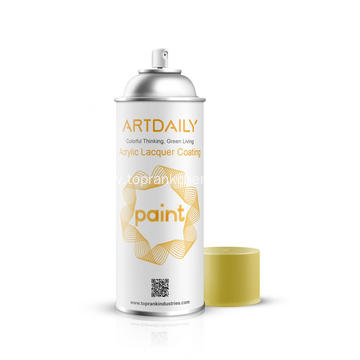 Flexible Lacquer Spray Paint