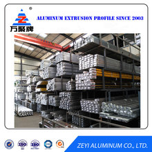 Extruded aluminum profile for window and door