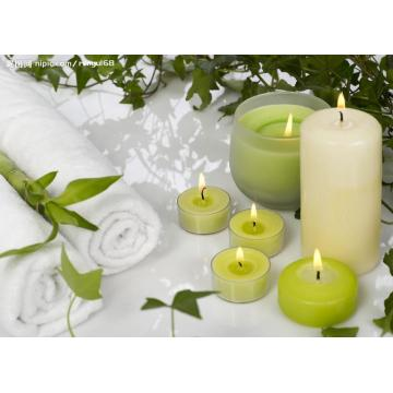 High Quality Plastic Shell Scented Tealight Candle