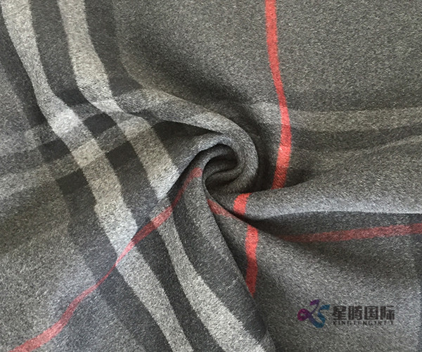 High Quality Classic Check 100% Wool Fabric