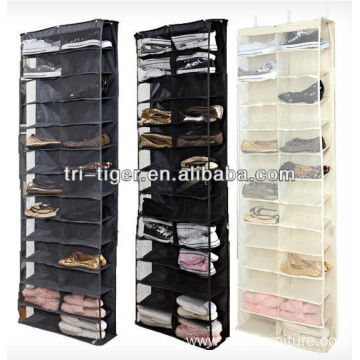 26 Pocket Over The Door Shoe Organizer