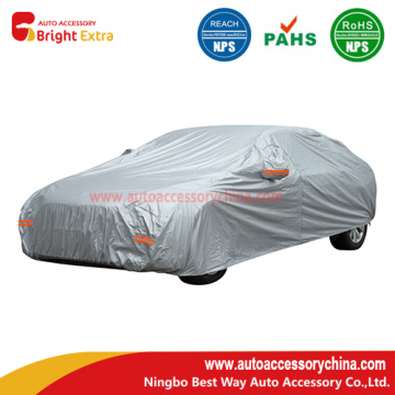 Bottom price for China Polyester Silver Car Covers,Nylon Car Cover,Car Covers Weather Protection,Sun Car Cover,Covers For Vehicles Manufacturer Breathable Universal Fit Auto Car Covers export to Oman Manufacturer
