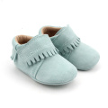 Bright Green Classic Fashion Environment Friendly Moccasins