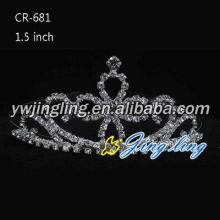 Hot Fashion Silver Rhinestone Bridal Crowns Tiaras