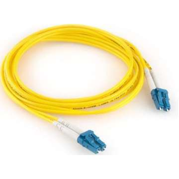 LC-LC singlemode OS2 9/125 duplex patch cable