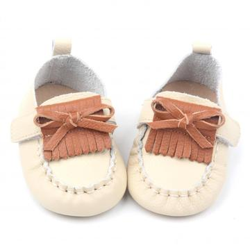 Colorful Exquisite Handmade Moccasins Leather Baby Shoes