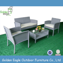 Competitive Price for Modular Seating,Wicker Sofa Set,Outdoor Sectional Sofa,Garden Outdoor Sofa Manufacturers and Suppliers in China KD fashion Wicker Furniture Garden Sofa set supply to France Factories