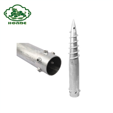 Hot Sale Q235 Ground Screw With High Quality