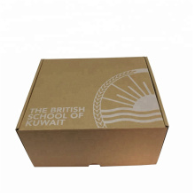 Brown Clothing Mailing Corrugated Paper Box