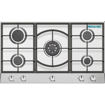 Poland SS Gas Cooktop 5 Burner