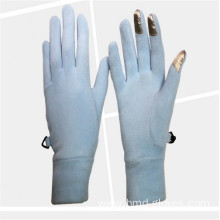 Bottom price for China Half Finger Gloves,Cotton Half Finger Gloves,Fingerless Cotton Gloves Manufacturer and Supplier Women Winter Warm Long Finger Polar Fleece Gloves supply to Slovakia (Slovak Republic) Wholesale