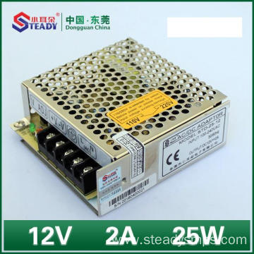 Switch din rail power supply 12VDC 24W