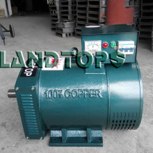 Good quality 100% for 3 Phase AC Generator 10KW STC 3 Phase AC Brush Alternator Output export to Portugal Factory