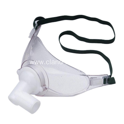 High quality Disposable medical PVC Tracheostomy Mask