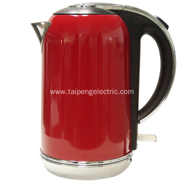 High Quality Industrial Factory for Electric Cordless Glass Tea Kettle VIP Customer Electrical Tea Kettle export to Italy Manufacturers
